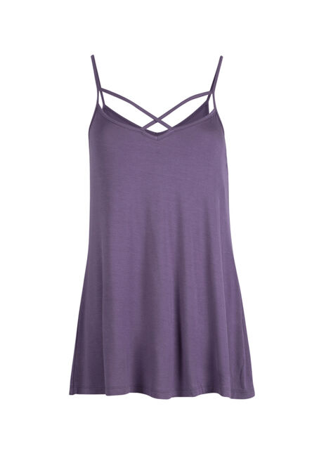 Ladies' Cage Neck Strappy Tank