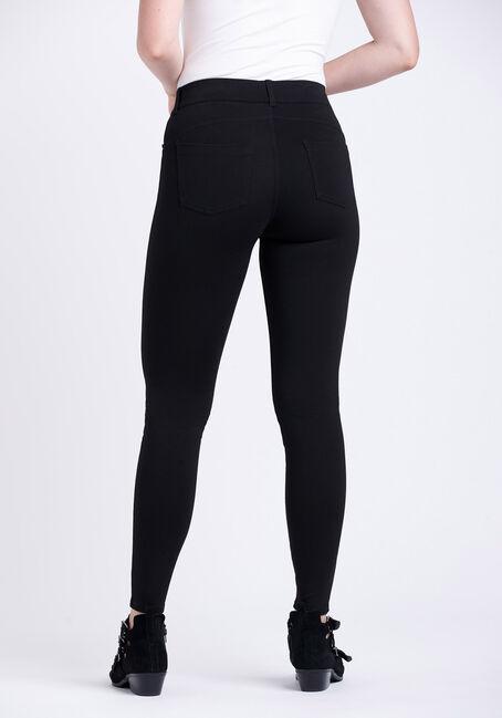Women's Pull-on Ponte Pant, BLACK, hi-res