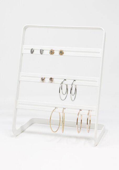 Studs And Hoops Multi Earring Set