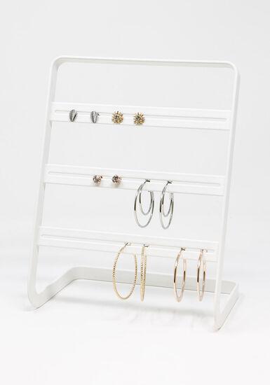Studs And Hoops Multi Earring Set, MULTI, hi-res