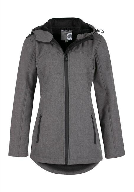 Ladies' Textured Softshell Jacket
