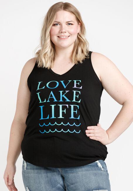 Women's Lake Life V Neck Tank