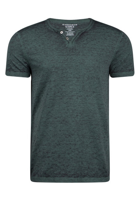 Men's Everday Burnout Split V-Neck Tee
