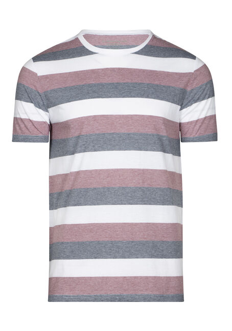 Men's Everyday Striped Crew Neck Tee