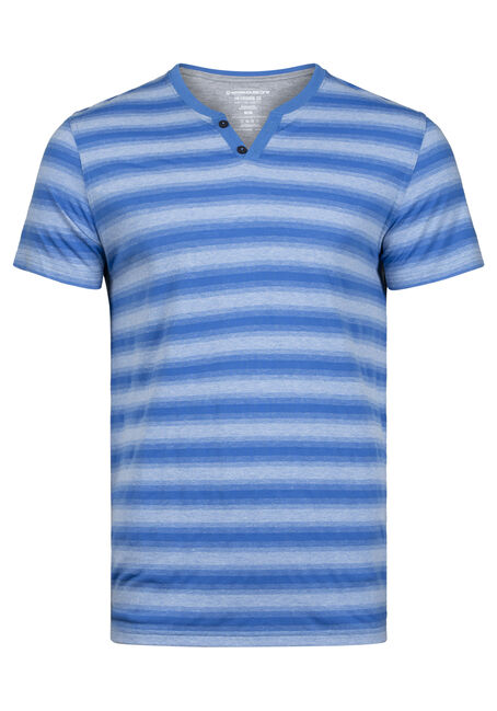 Men's Everyday Striped V-Neck Tee