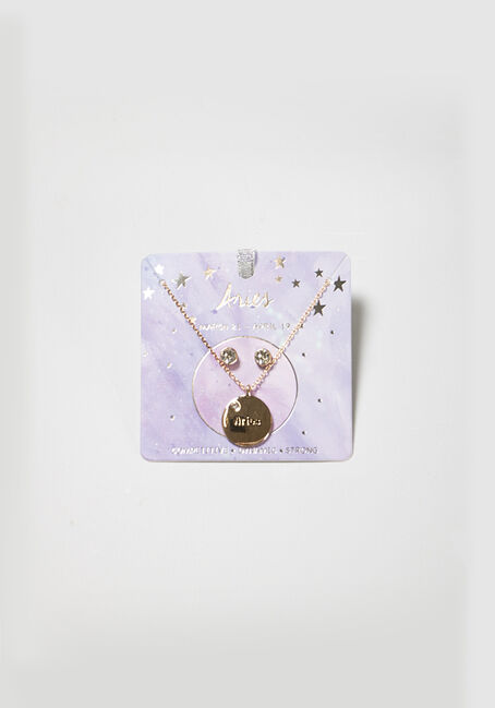 Women's Aries Necklace Set