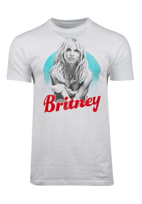 Men's Britney Spears Tee, WHITE, hi-res