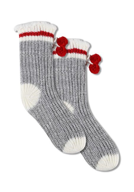 Ladies' Cabin Slipper Socks