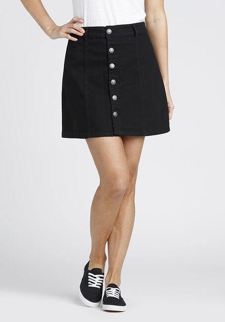Ladies' Button Front Skirt