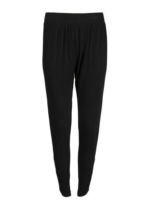 Ladies' Convertible Lounge Pant, BLACK, hi-res