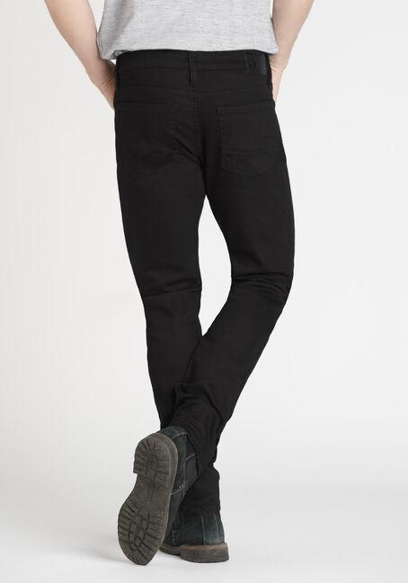 Men's Skinny Black Jeans, BLACK, hi-res