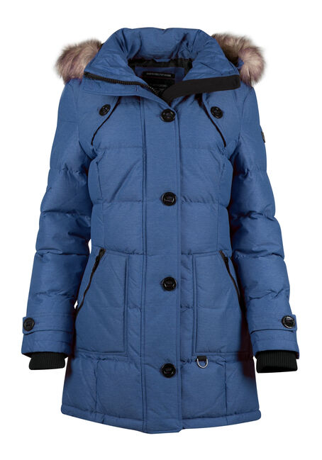 Ladies' Quilted Utility Parka