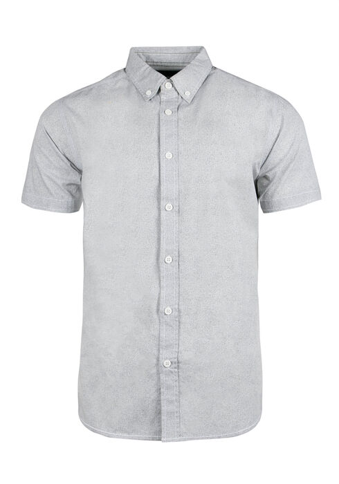 Men's Printed Shirt, WHITE, hi-res