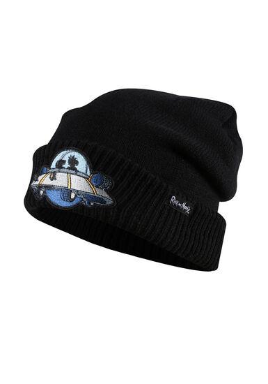 Men's Rick and Morty Hat, BLACK, hi-res