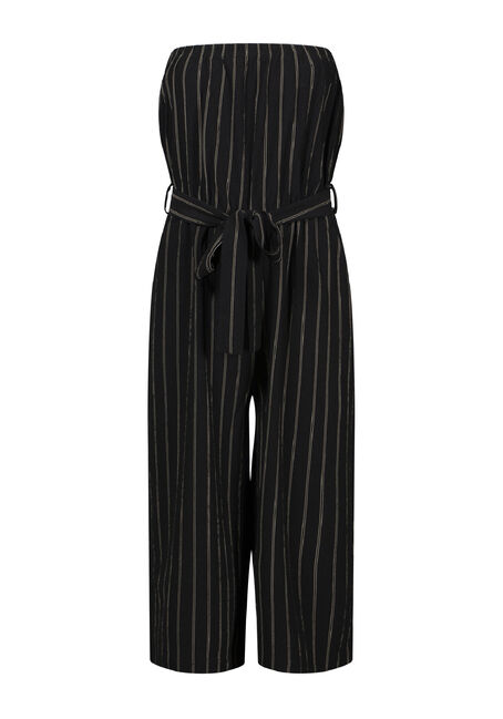 Women's Strapless Jumpsuit, , hi-res