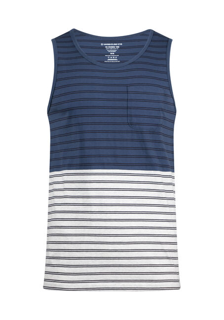 Men's Everday Striped Tank