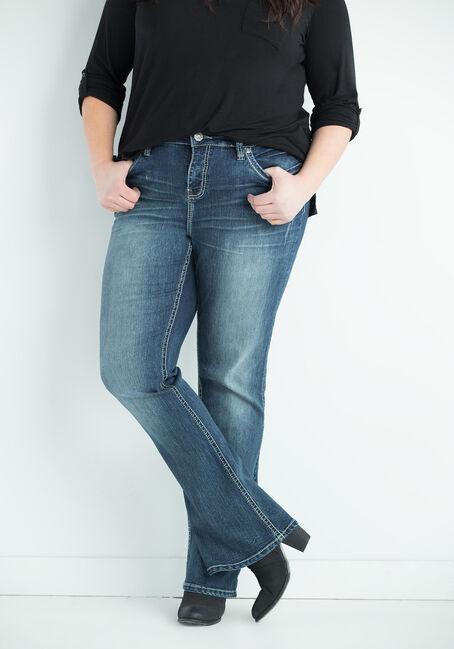 Ladies' Plus Size Contour Boot Jeans