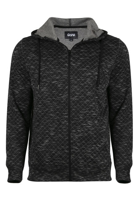 Men's Quilted Space Dye Hoodie
