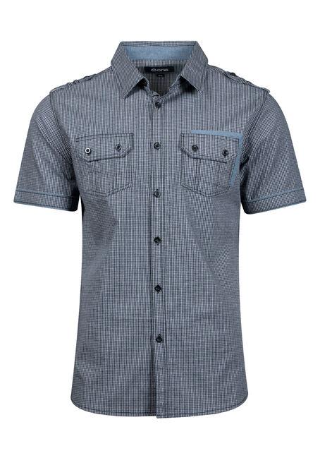 Men's Mini Check Shirt