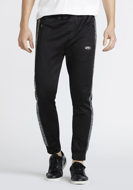 Men's Side Stripe Athletic Jogger