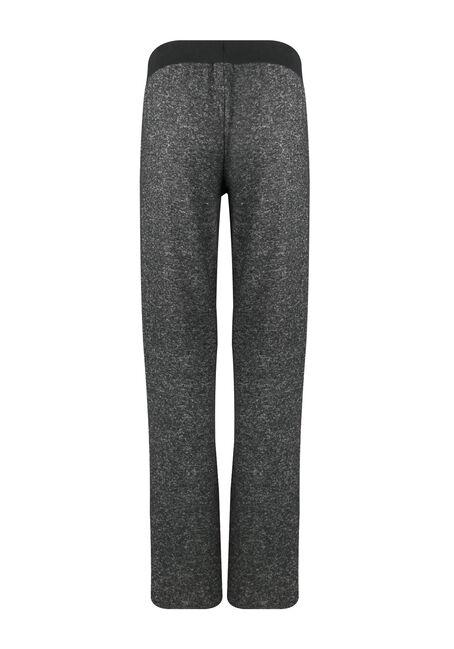 Ladies' Wide Leg Lounge Pant, CHARCOAL, hi-res