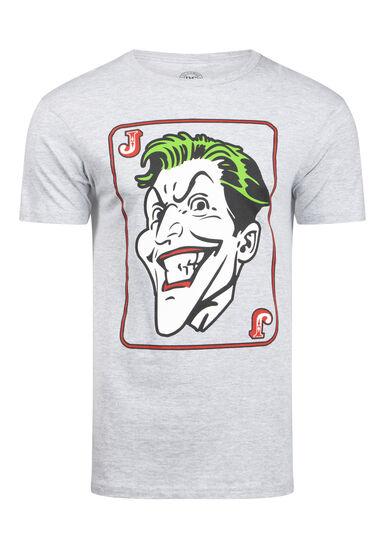 Men's Joker Tee, HEATHER GREY, hi-res