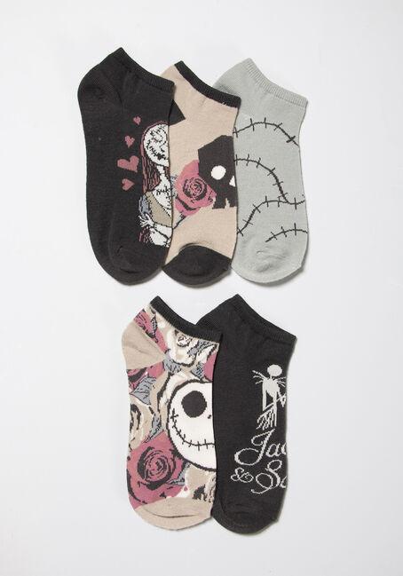 Women's 5 Pair Nightmare Before Christmas Socks