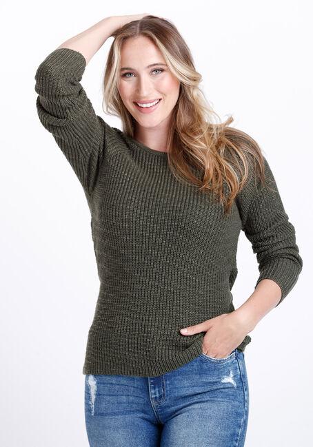 Women's Wrap Back Sweater