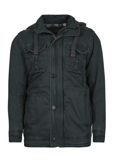 Men's Cargo Jacket, FOREST GREEN, hi-res