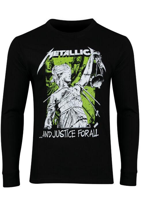 Men's Metallica Tee, BLACK, hi-res
