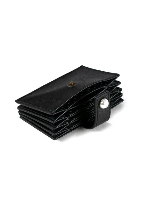 Women's Card Holder, BLACK, hi-res