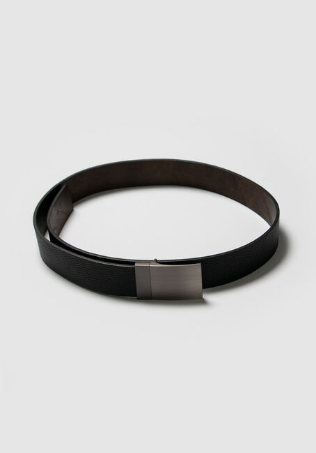 Men's Reversible Belt, BLACK, hi-res