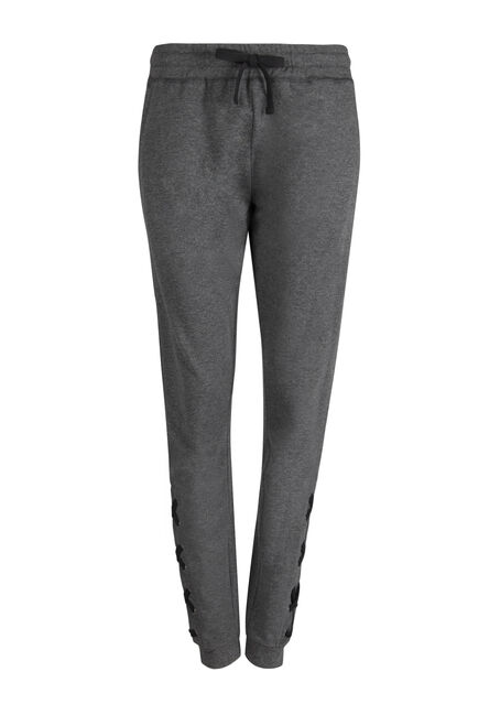 Ladies' Lace Up Bottom Jogger