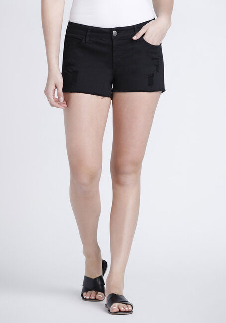 Women's Destroyed Coloured Short