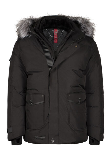 Men's Down Filled Parka