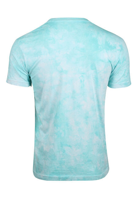 Men's Tie Dye Tee, MINT, hi-res