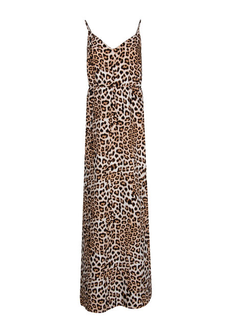 Women's Animal Print Maxi Dress