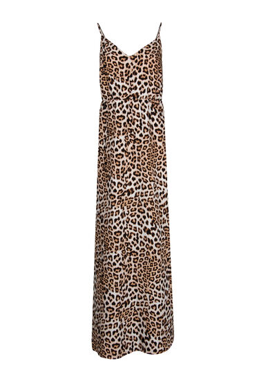 Women's Animal Print Maxi Dress, MULTI, hi-res