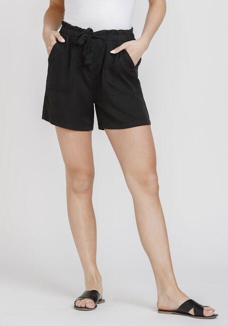Women's Tie Front Soft Short