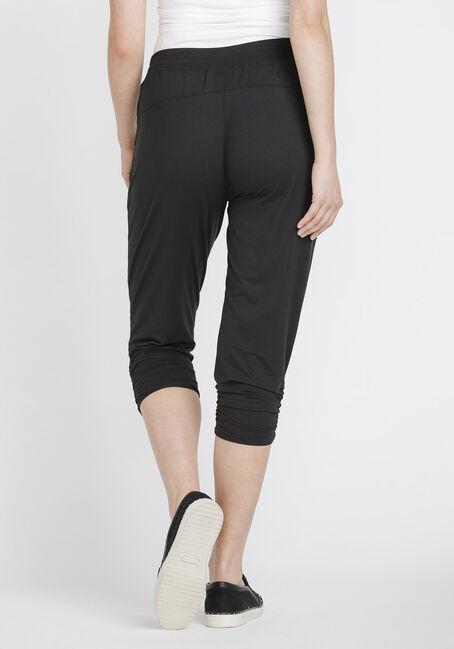 Women's Jogger Capri, BLACK, hi-res