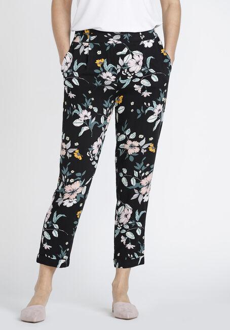 Women's Floral Crop Pant