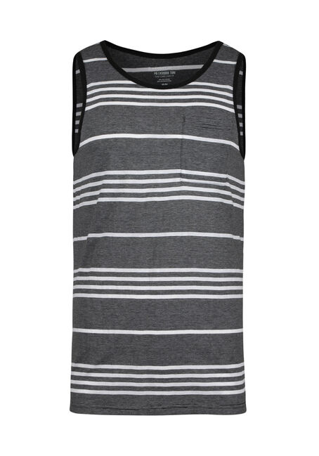 Men's Everyday Stripe Tank