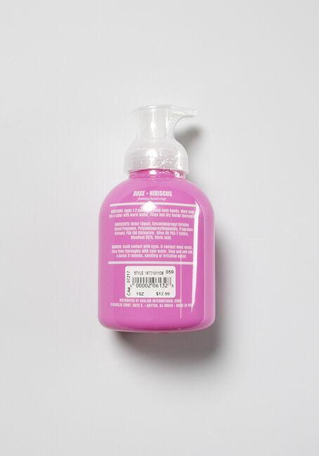 Rose Hibiscus Hand Soap, PALE PINK, hi-res