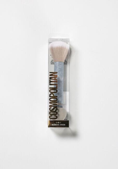 Women's 2-IN-1 Sponge Brush, WHITE, hi-res