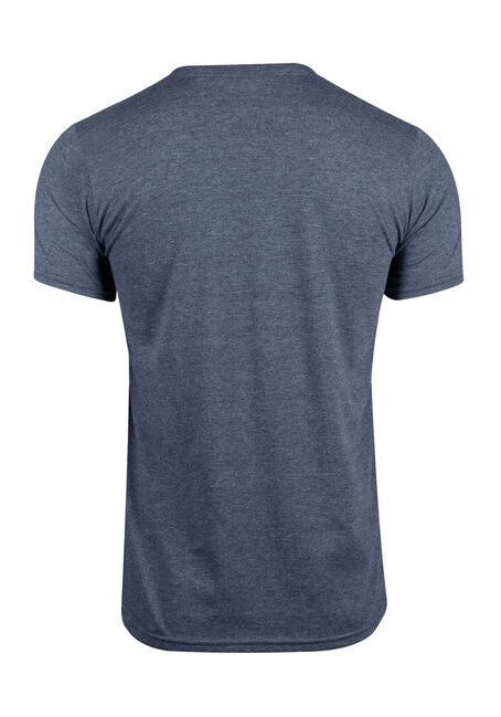 Men's Hockey Tee, HEATHER NAVY, hi-res