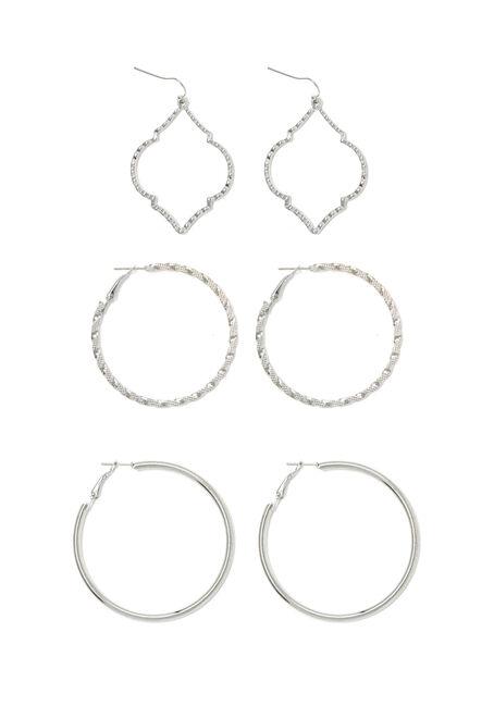 Ladies' Trio Earring Set