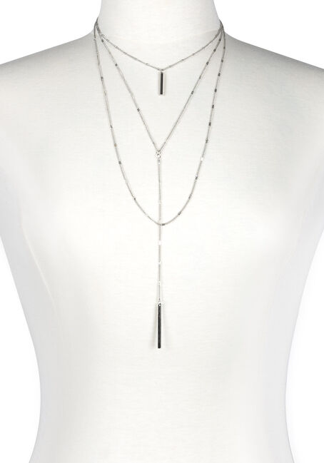 Women's Layered Y Necklace