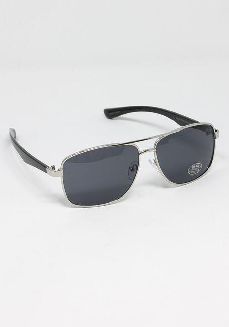 Men's Square Metal Sunglasses