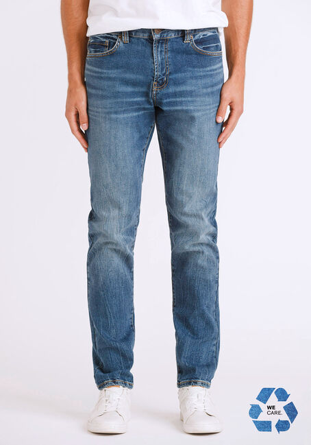 Men's Vintage Wash Skinny Jeans
