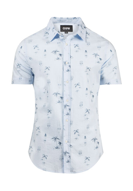 Men's Surf Print Shirt